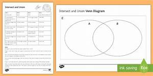 Intersect And Union Venn Diagram Game
