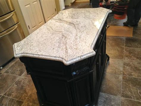 archcity granite installation andino white granite