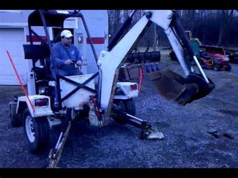 towable excavator spider  backhoe doovi