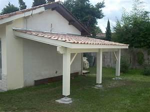 Abri De Terrasse En Bois : r alisation d 39 une pergola couverte artisan charpente ~ Dailycaller-alerts.com Idées de Décoration