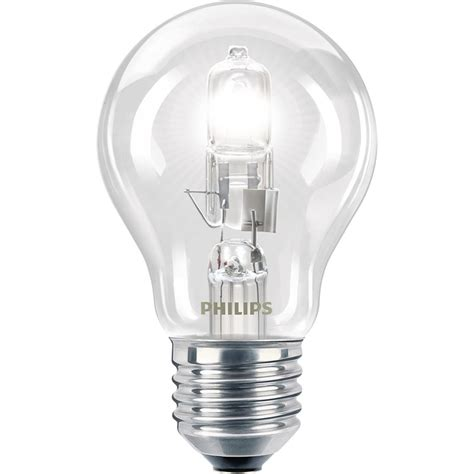 philips halogen ecoclassic 70w es clear bulb bunnings