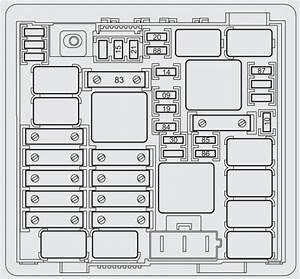 Abarth Punto Evo  2010 - 2012  - Fuse Box Diagram