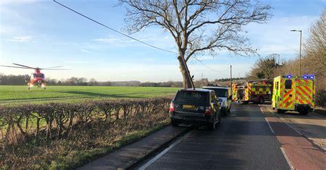 Serious Crash Closes A1000 Near Hatfield As Air Ambulance