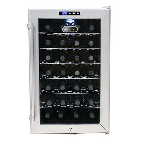 thermoelectric wine cooler whynter 28 bottle thermoelectric wine cooler wc 28s the