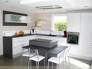 coin repas cuisine pas cher banquette meubles jardin avec With cuisine avec ilot central et coin repas