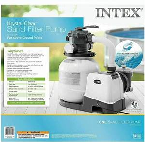 Intex Krystal Clear Filter Pump Model 603 Above Ground