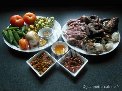 cuisine sauce ivoirienne sauce gouagouassou plat africain jeannette cuisine