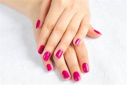 Manicure Pedicure Shellac Med Behandling Forbindelse Fjernelse