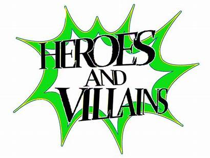 Villains Heroes Clipart Variety Hero Clip Conclusion