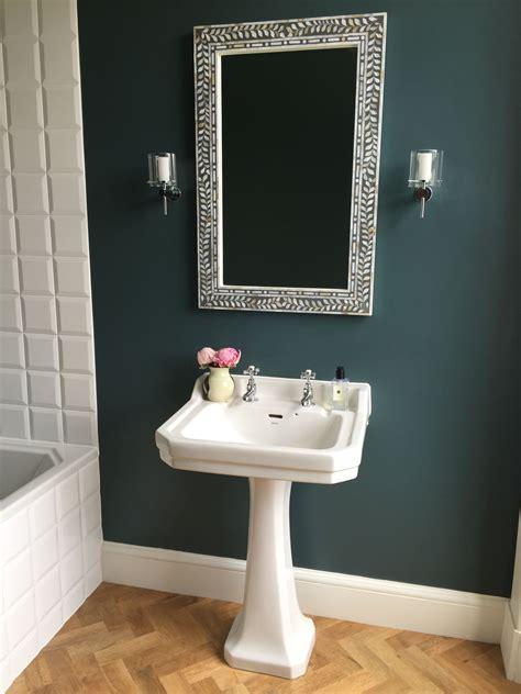 farrow and bathroom ideas farrow inchyra blue on walls karndean light oak