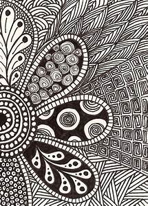 Pictures: Abstract Art Black And White Drawings Easy ...