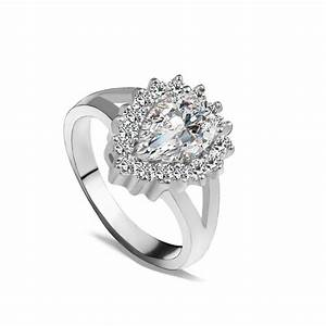 r095 rings for women wedding ring big crystal jewelry With big wedding rings for women