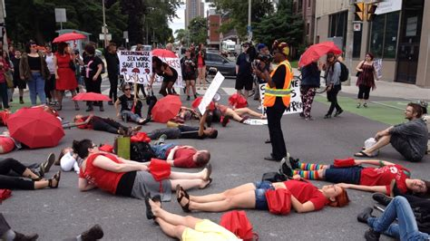 Sex Workers Rally Across Canada To Protest Prostitution