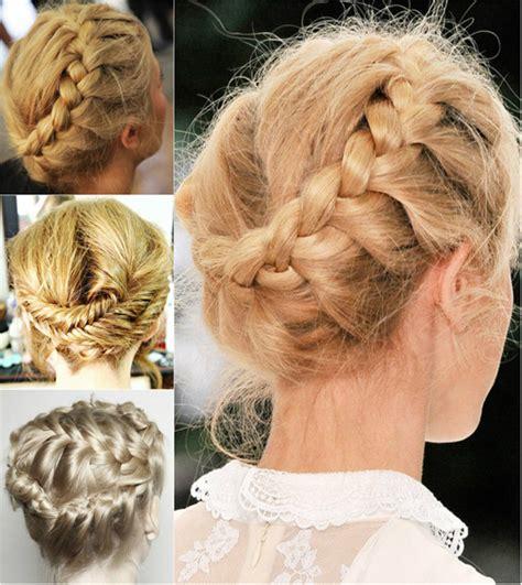 chic braided crown hairstyles  girlsdaily creation