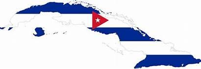 Cuba Flag Map Clipart Outline Cliparts Clip