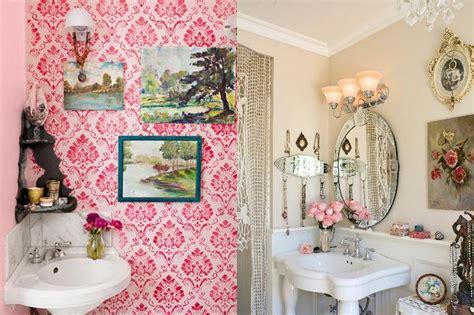 Bohemian Style Bathroom Has A Unique Design And Attractive