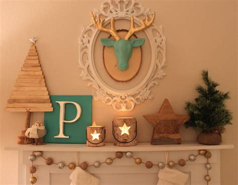 Diy Faux Fireplace Mantle Petite Party Studio