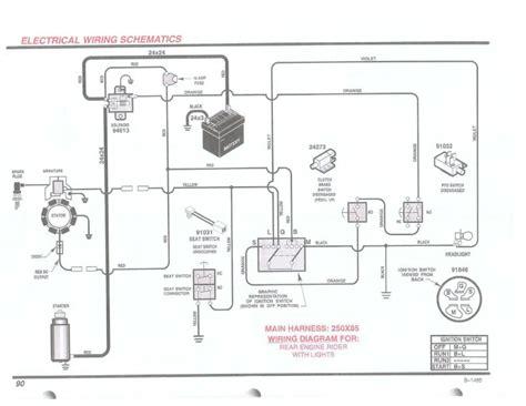 branchement electrique tracteur tondeuse briconosaure