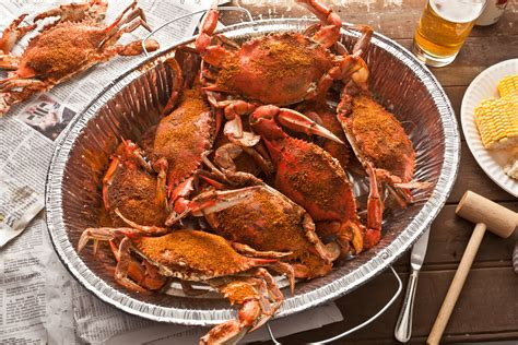 how to boil crab basic steamed blue crabs recipe chowhound