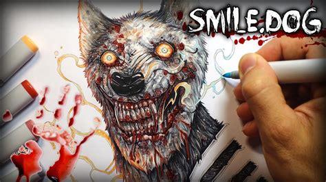 smiledog horror story creepypasta drawing youtube