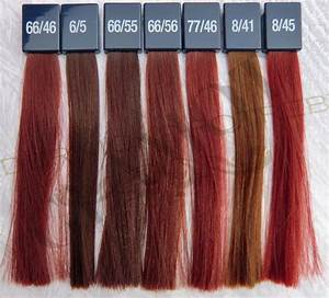 Loreal Red Hair Colour Chart Wella Koleston Perfect Vibrant Reds Glamot Com Red