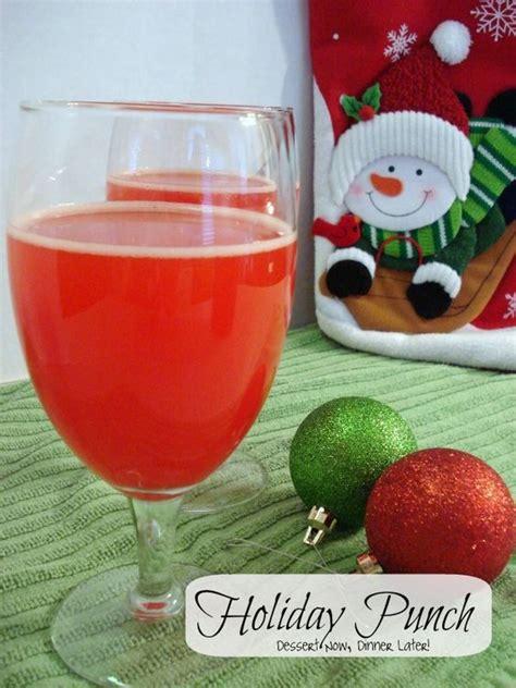 holiday punch recipe holiday punch non alcoholic and xmas