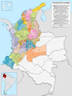 Organización territorial de Colombia Wikipedia