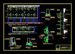Curtain Wall Detail In Autocad
