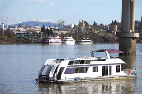 Living On A Boat Oregon living on a boat in portland or stock photo image of