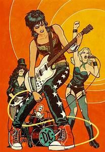 Wonder Woman, Black Canary, Zatanna and Batgirl as The ...