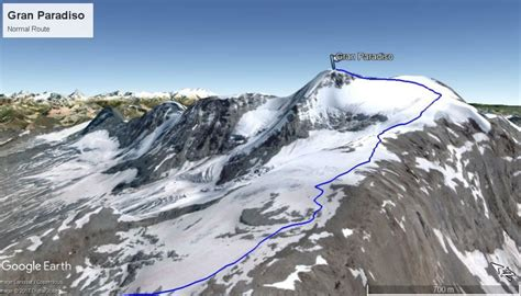 Gran Paradiso by Summit Gran Paradiso Peak Climbing 4000 M In The Alps