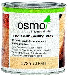 osmo  grain sealing wax clear