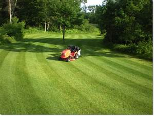 Lawn Striping  How To Mow Ballpark Grass Patterns