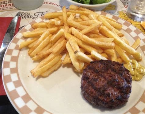 cuisine steak haché steak haché frites picture of grill courtepaille