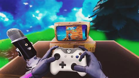 controller  mobile fortnite cheating