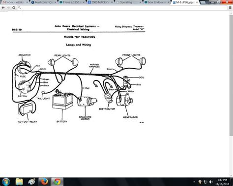 Have Deere Tractor Need Wiring Diagram For