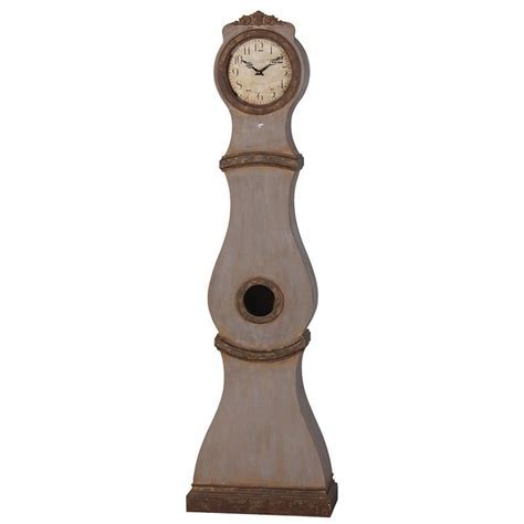 2 Tone Grandfather Clock Furniture   La Maison Chic Luxury