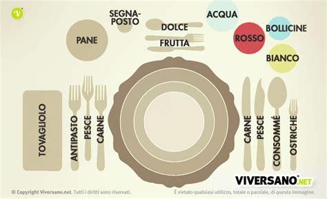 piatti bicchieri posate come apparecchiare la tavola e disporre posate piatti e