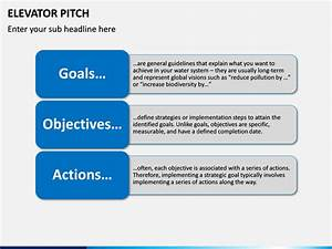 Elevator Pitch Powerpoint Template