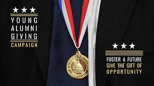 Young Alumni Giving Campaign | Congressional Award