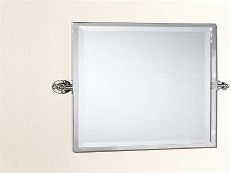 chrome bathroom mirrors chrome rectangular pivot mirror