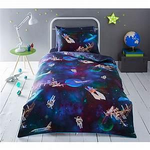 Baker by Ted Baker Kids' multicoloured 'Space' duvet cover ...