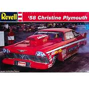 1958 Plymouth Christine Pro Modified Dragster 1/25 Fs