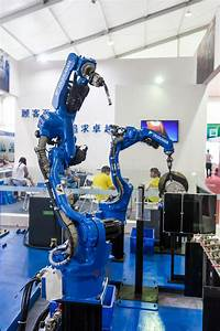 Industrial Robot For Arc Welding Editorial Photography ...