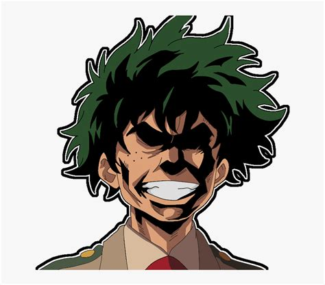 Deku All Might S Face Cute My Hero Academia Hd Png