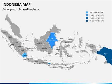indonesia map powerpoint sketchbubble