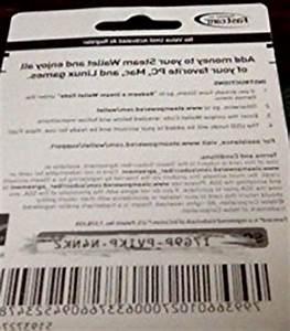 Steam Gift Card 100 Pc Video Games