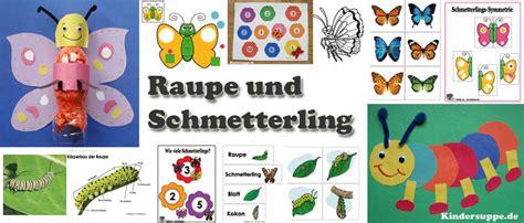 projekt farben kindergarten ideen projekt schmetterling und raupe kindergarten und kita ideen