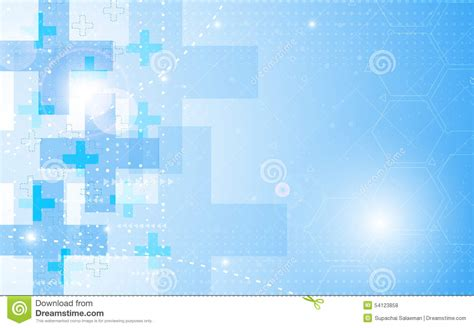 vector background abstract health care concept stock