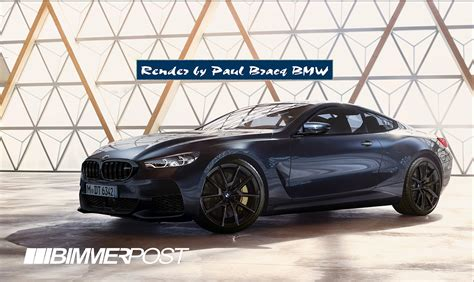 2019 Bmw M8 Here's A Realistic Rendering Of The